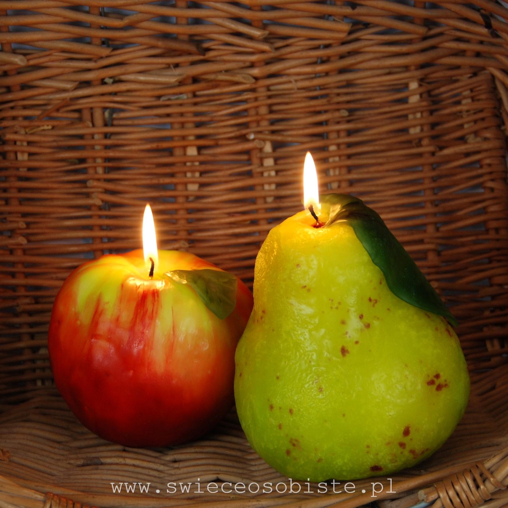 świece owoce warsztaty świecowe