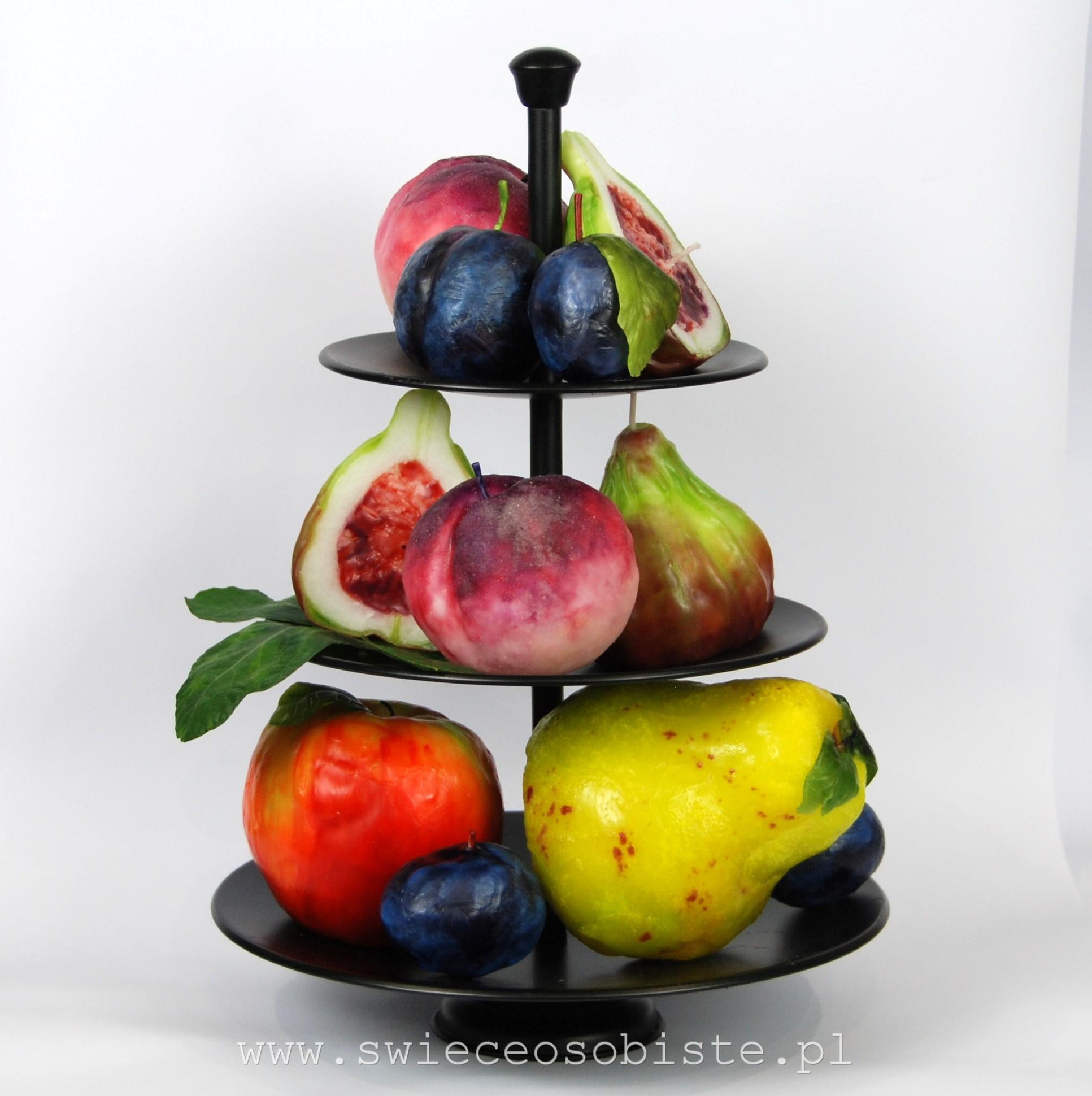 świece owoce warsztaty
