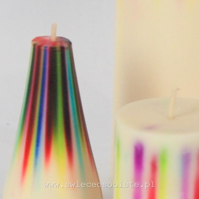 świece tęczowe warsztaty