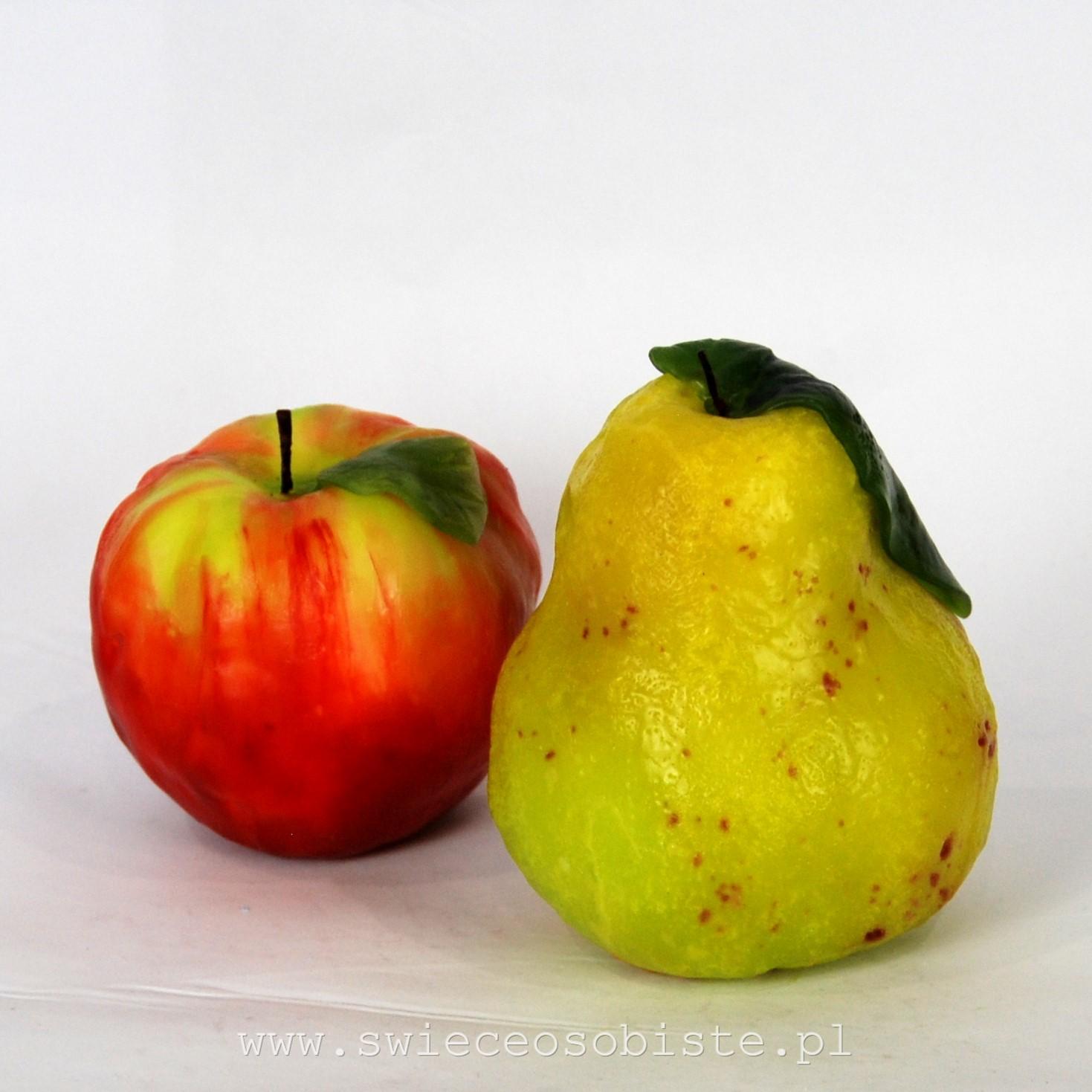 jabłko warsztaty świecowe