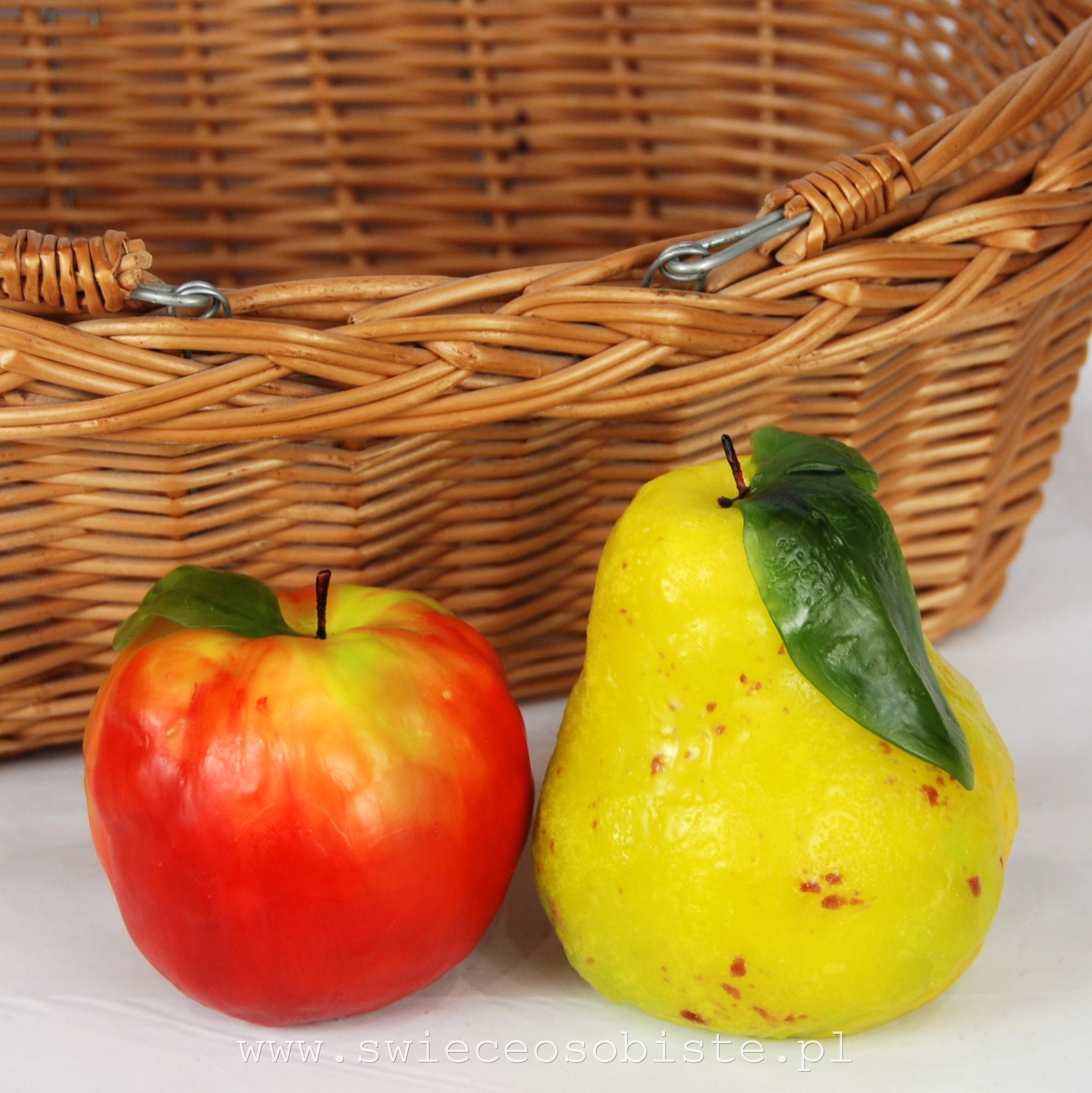 warsztaty świecowe owoce